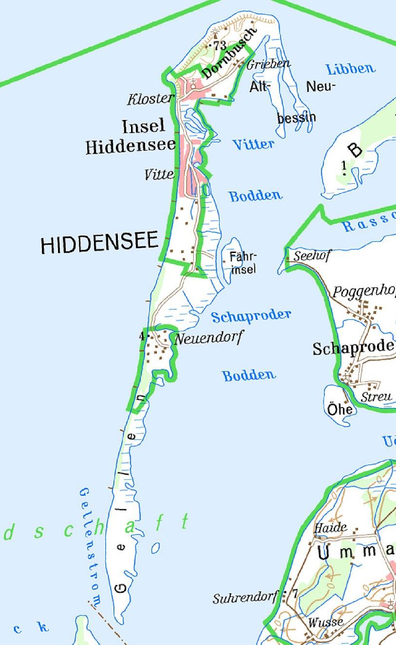 Ostsee Karte Rügen.Velo Touring Reiseführer Ostsee Radweg Mv Etappe 8 Von